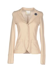 Ottod'ame Suits And Jackets Blazers Women Sand