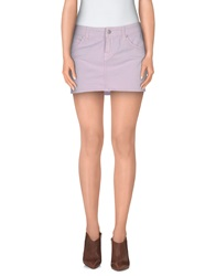 Paul Frank Denim Skirts Pink