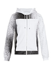 Balenciaga Spray Paint Print Hooded Sweatshirt
