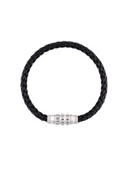 Tateossian Braided Bracelet Black