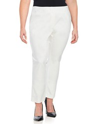 Vince Camuto Plus Stretch Dress Pants New Ivory