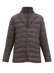 Herno La Giacca Quilted Down Jacket Grey
