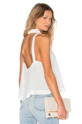 Free People City Lights Cowl Top Ivory