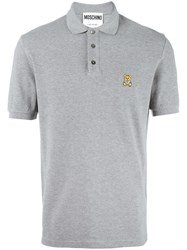Moschino Vintage Classic Polo Shirt Grey