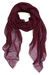 Sole Society Women's Dot Print Scarf Oxblood