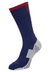 Nike Performance Stadium Crew Sports Socks Loyal Blue Stormred