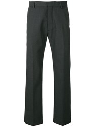 Ami Alexandre Mattiussi Straight Fit Trousers Grey