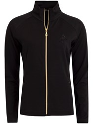 Green Lamb Jay Full Zip Jacket Black
