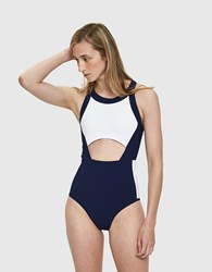 Lndr Ariel One Piece Swimsuit Navy