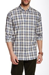 Cutter And Buck Woodworth Plaid Long Sleeve Shirt Multi