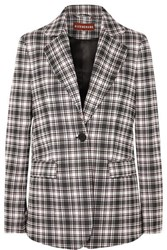 Alexachung Checked Woven Blazer Black