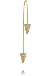Finds Asherali Knopfer Mix And Match 18 Karat Gold Diamond And Pearl Earring