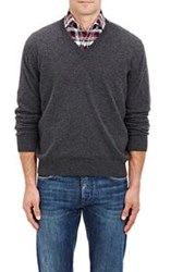 Barneys New York V Neck Sweater Black