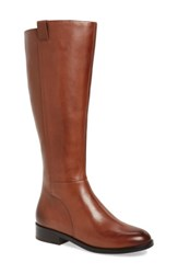 Cole Haan Women's Katrina Riding Boot Harvest Brown Leather