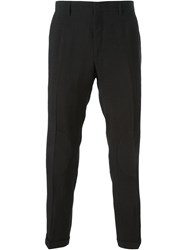 Christopher Kane Cropped Tailored Trousers Black