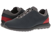 Z Zegna Sprinter 300 Sneaker Dark Blue Red Men's Lace Up Casual Shoes