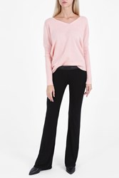 Wildfox Couture Shhha Cashmere Jumper Pink