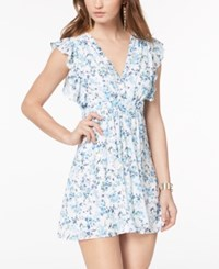 Disney Princess Juniors' Ruffled Fit And Flare Dress Multi