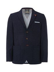 White Stuff Men's Ship Stern Blazer Navy