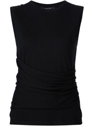Derek Lam Knitted Round Neck Top Black