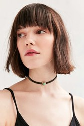 Urban Outfitters Alix Opal Choker Necklace Black