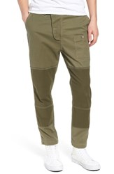 Hudson Jeans Slouchy Slim Fit Cargo Pants Army Green 1