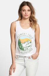 Element 'Soul Adventurer' Graphic Tank White