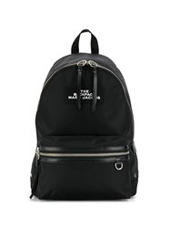 Marc Jacobs Two Way Zip Closure Backpack Black
