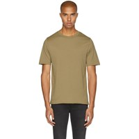 Blk Dnm Tan '125' Raw Crewneck T Shirt