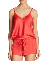 Sam Edelman Cami And Shorts Sleep Set Red