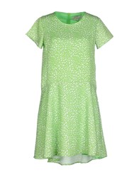 Essentiel Dresses Short Dresses Women Light Green