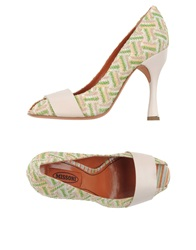 Missoni Pumps Light Green