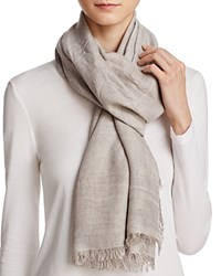 Fraas Lightweight Solid Scarf Taupe