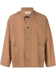 Loveless Side Pocket Shirt Brown