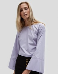 House Of Sunny Ob Two Step Top Lilac