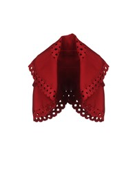 Alaia Cardigans Red
