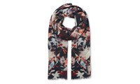 Whistles Lily And Lionel Trippy Scarf Multicolour