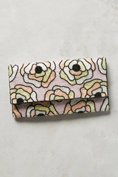Anthropologie Glass Garden Clutch Rose
