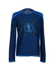 Bikkembergs Knitwear Jumpers Men Blue