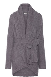 Skin Belted Alpaca Blend Boucle Wrap Cardigan