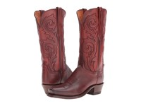 Lucchese Nicole Antique Wine Women's Shoes Burgundy