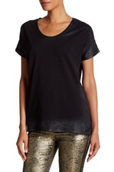 Zadig And Voltaire Vicky Spray Short Sleeve Tee Black
