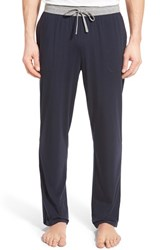 Men's Boss 'Balance' Stretch Lounge Pants Dark Blue
