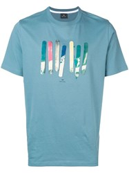 Paul Smith Ps By Board Print T Shirt 41