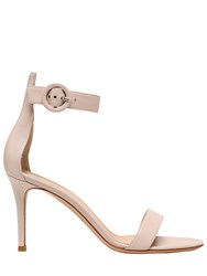Gianvito Rossi 85Mm Portofino Leather Sandals