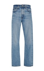Brock Collection Light Vintage Selvedge Denim Wright Jeans Light Blue