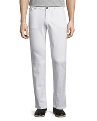 Etro Five Pocket Stretch Denim Jeans White Women's
