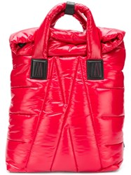 Moncler Padded Backpack Red