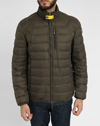 Parajumpers Khaki Hugo Feather Down Jacket