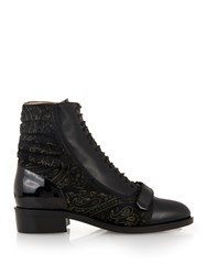 Preen Kim Leather Ankle Boots